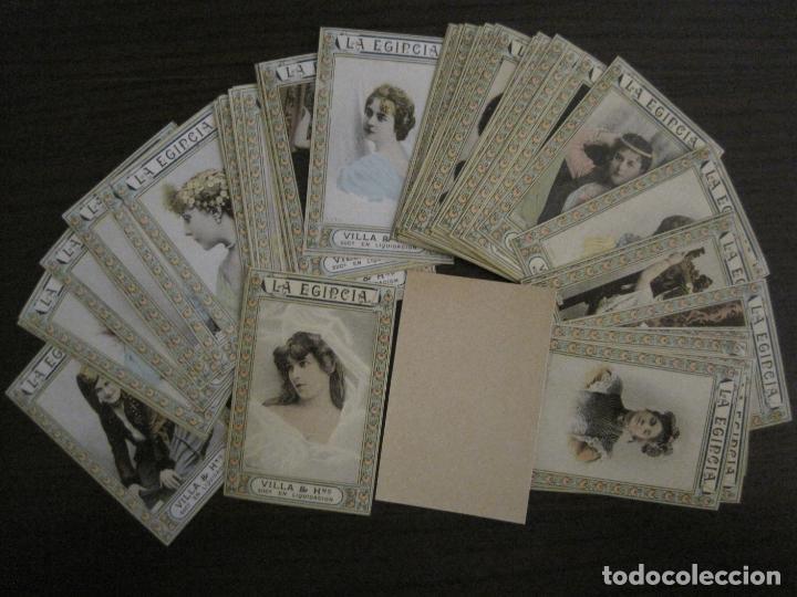 Paquetes de tabaco: ARTISTAS-COLECCION 49 CROMOS-LA EGIPCIA-TABACO-VILLA Y HERMANO-VER FOTOS-(V-16.429) - Foto 3 - 161131170