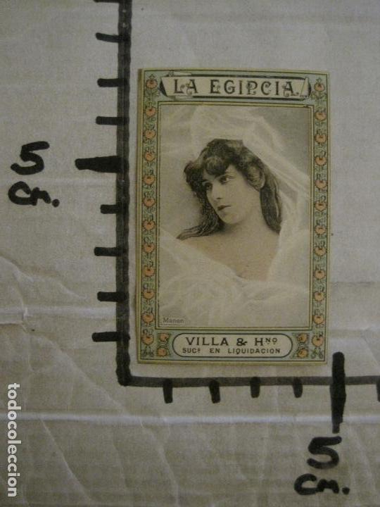 Paquetes de tabaco: ARTISTAS-COLECCION 49 CROMOS-LA EGIPCIA-TABACO-VILLA Y HERMANO-VER FOTOS-(V-16.429) - Foto 15 - 161131170