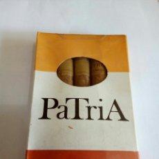 Paquetes de tabaco: CAJA CON 5 PURITOS CIGARROS PATRIA PRECINTADO. Lote 161474408