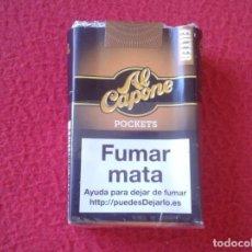 Paquetes de tabaco: PAQUETE DE CIGARRILOS VACÍO CAJETILLA BLANDA AL CAPONE TABACO TOBACCO VER FOTOS Y DESCRIPCIÓN. FUMAR. Lote 162478434