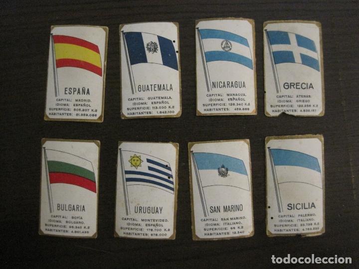 Paquetes de tabaco: BANDERAS-COLECCION DE 41 CROMOS-LA MASCOTA-DIEGO MORENO MIRANDA-TENERIFE-VER FOTOS-(V-16.915) - Foto 3 - 163963006