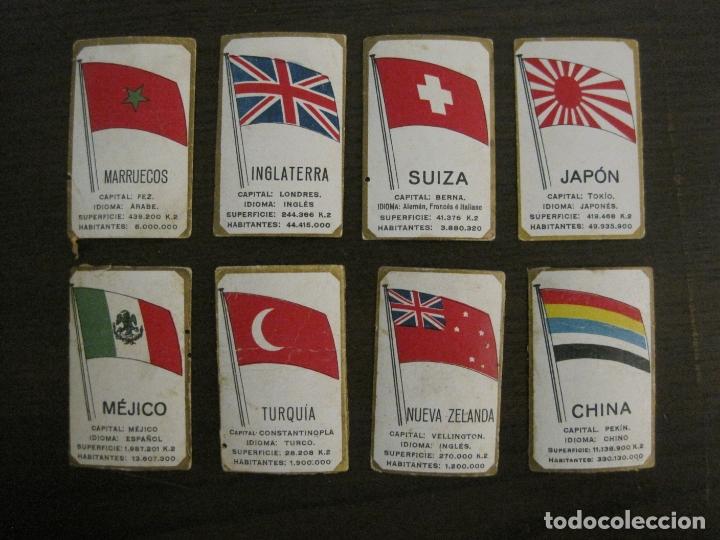 Paquetes de tabaco: BANDERAS-COLECCION DE 41 CROMOS-LA MASCOTA-DIEGO MORENO MIRANDA-TENERIFE-VER FOTOS-(V-16.915) - Foto 5 - 163963006