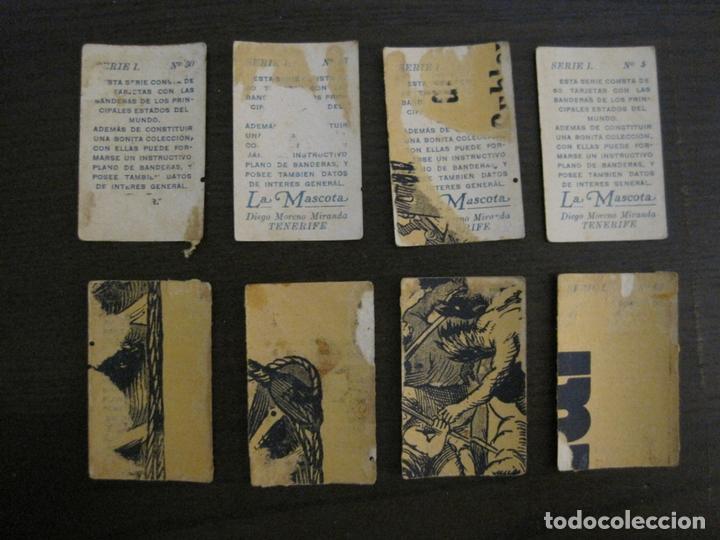 Paquetes de tabaco: BANDERAS-COLECCION DE 41 CROMOS-LA MASCOTA-DIEGO MORENO MIRANDA-TENERIFE-VER FOTOS-(V-16.915) - Foto 6 - 163963006
