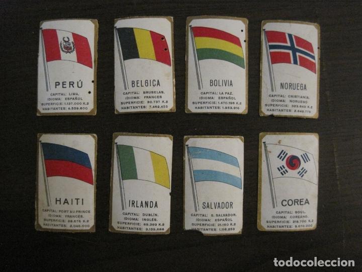 Paquetes de tabaco: BANDERAS-COLECCION DE 41 CROMOS-LA MASCOTA-DIEGO MORENO MIRANDA-TENERIFE-VER FOTOS-(V-16.915) - Foto 7 - 163963006