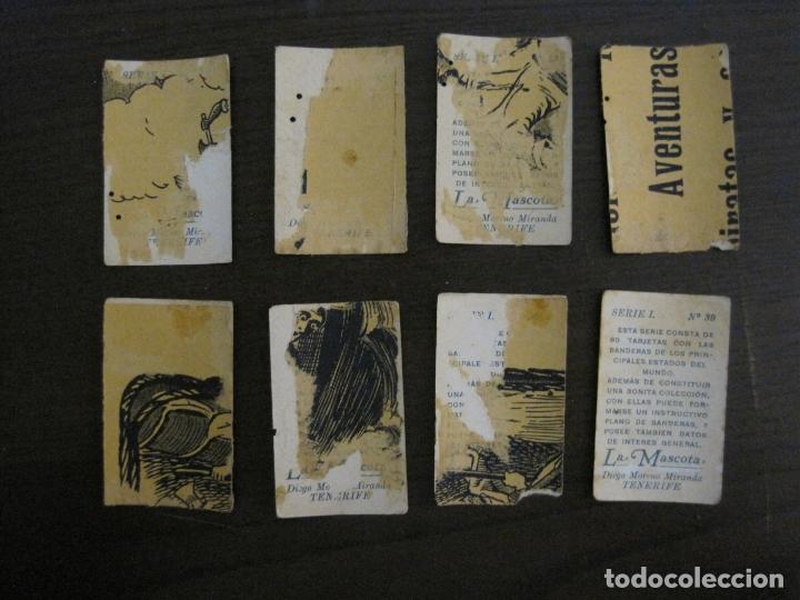 Paquetes de tabaco: BANDERAS-COLECCION DE 41 CROMOS-LA MASCOTA-DIEGO MORENO MIRANDA-TENERIFE-VER FOTOS-(V-16.915) - Foto 8 - 163963006