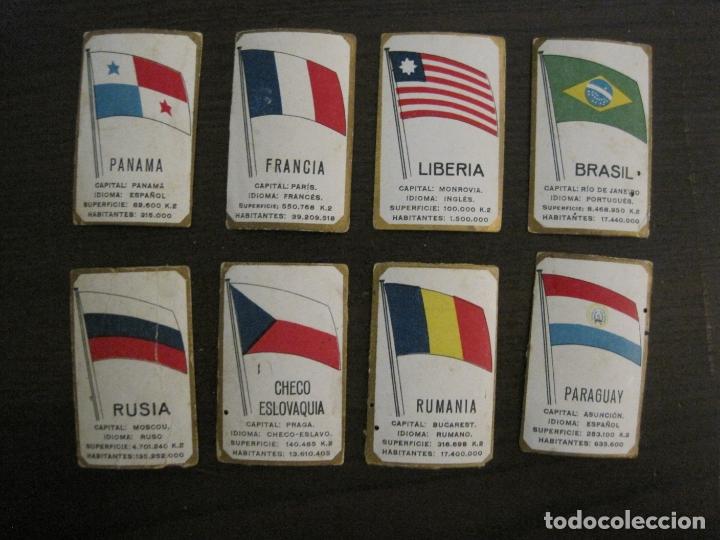 Paquetes de tabaco: BANDERAS-COLECCION DE 41 CROMOS-LA MASCOTA-DIEGO MORENO MIRANDA-TENERIFE-VER FOTOS-(V-16.915) - Foto 9 - 163963006