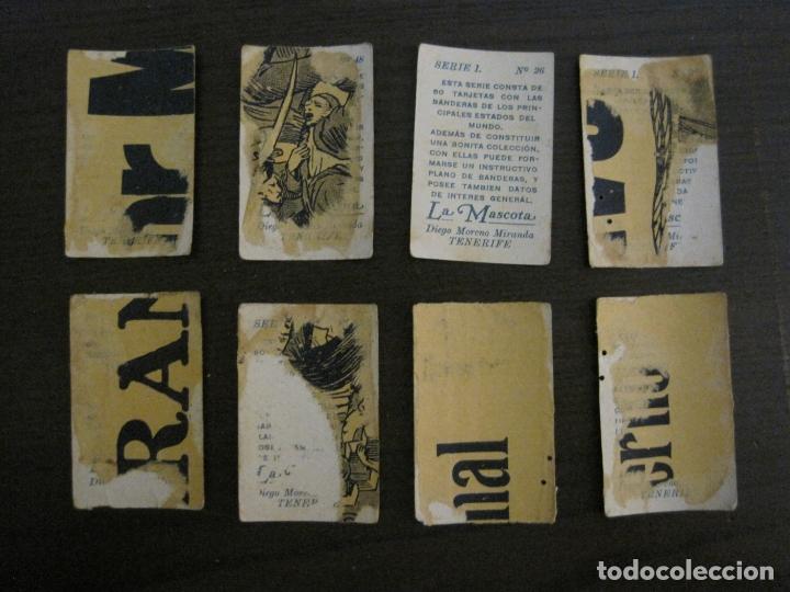 Paquetes de tabaco: BANDERAS-COLECCION DE 41 CROMOS-LA MASCOTA-DIEGO MORENO MIRANDA-TENERIFE-VER FOTOS-(V-16.915) - Foto 10 - 163963006