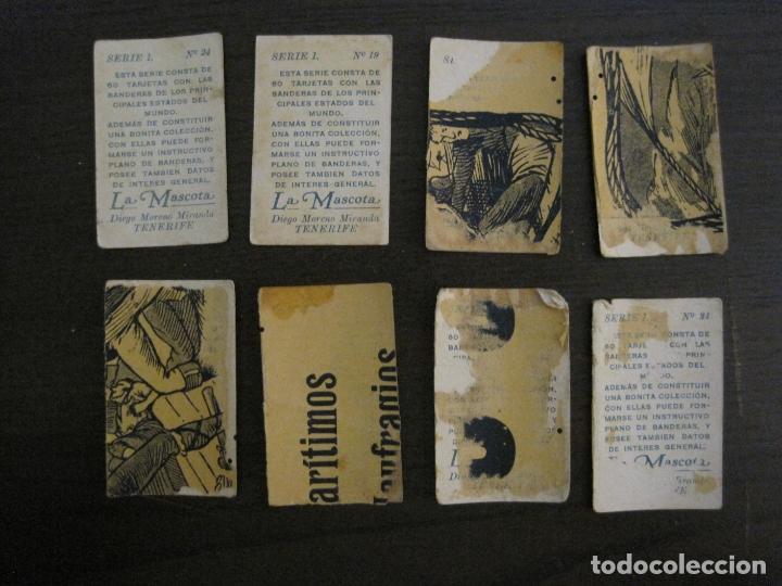 Paquetes de tabaco: BANDERAS-COLECCION DE 41 CROMOS-LA MASCOTA-DIEGO MORENO MIRANDA-TENERIFE-VER FOTOS-(V-16.915) - Foto 12 - 163963006