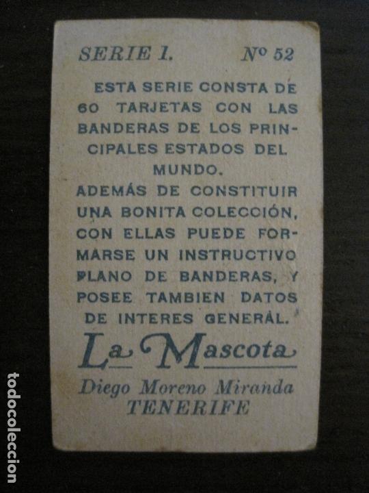 Paquetes de tabaco: BANDERAS-COLECCION DE 41 CROMOS-LA MASCOTA-DIEGO MORENO MIRANDA-TENERIFE-VER FOTOS-(V-16.915) - Foto 14 - 163963006
