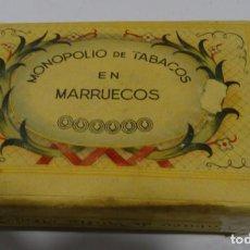 Paquetes de tabaco: TABACO DE VUELTA ABAJO, 100 GR. FLOR DE HABANA. MONOPOLIO DE TABACOS EN MARRUECOS. Lote 165213094