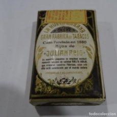 Paquetes de tabaco: LA NUEVA HABANA GRAN FABRICA DE TABACOS CASA FUNDAD 1880. HIJOS DE JULIÁN REIG.. Lote 165221270