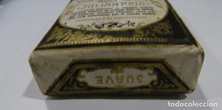 Paquetes de tabaco: LA NUEVA HABANA GRAN FABRICA DE TABACOS CASA FUNDAD 1880. HIJOS DE JULIÁN REIG. - Foto 2 - 165221270