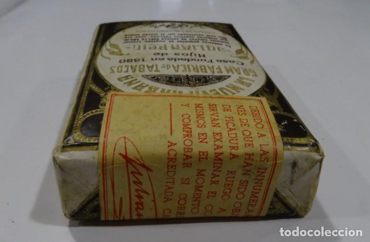 Paquetes de tabaco: LA NUEVA HABANA GRAN FABRICA DE TABACOS CASA FUNDAD 1880. HIJOS DE JULIÁN REIG. - Foto 4 - 165221270