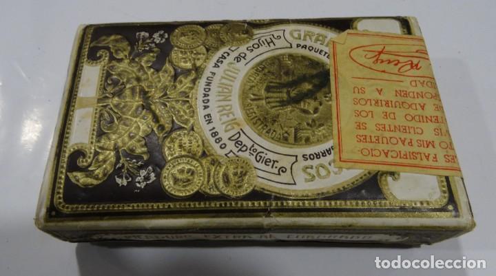 Paquetes de tabaco: LA NUEVA HABANA GRAN FABRICA DE TABACOS CASA FUNDAD 1880. HIJOS DE JULIÁN REIG. - Foto 6 - 165221270