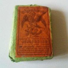 Paquetes de tabaco: TABACO. PAQUETE DE PICADURA EL ÁGUILA IMPERIAL. SIN ABRIR. Lote 166135406