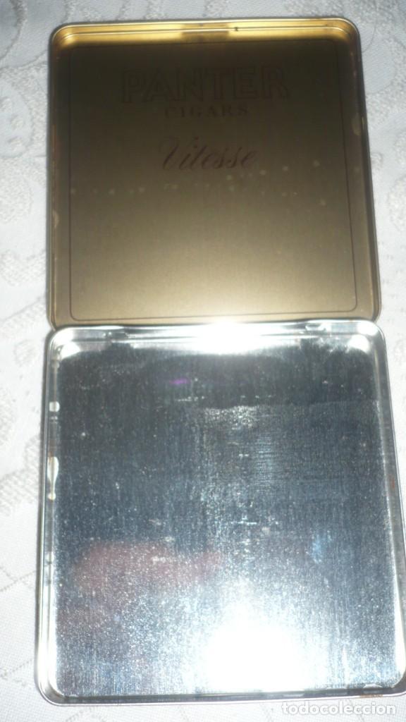Paquetes de tabaco: Caja Panter Vitesse de cigarros de metal - Foto 3 - 166181502