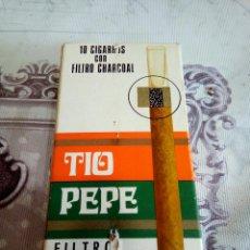 Paquetes de tabaco: CAJA VACÍA DE TABACO TÍO PEPE. Lote 166779741