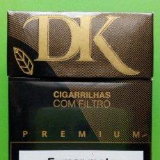 Paquetes de tabaco: PAQUETE DE TABACO VACIO- DK PREMIUM.. Lote 166917188