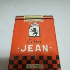 Paquetes de tabaco: PAQUETE ANTIGUO DE TABACO JEAN SIN ABRIR. Lote 167563102