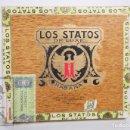 Paquetes de tabaco: CAJA DE 10 CIGARROS / PUROS TABACO - LOS STATOS DE LUXE. 10 SELECTOS - LA HABANA, CUBA. Lote 167954684