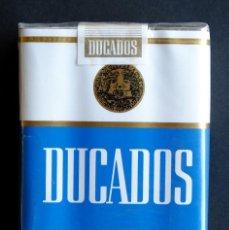 Paquetes de tabaco: PAQUETE DUCADOS FILTRO ANTIGUO PRECINTADO. Lote 169243940