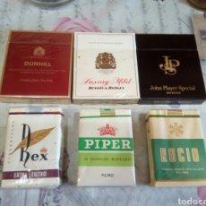 Paquetes de tabaco: LOTE DE 6 PAQUETE DE TABACO LLENOS. Lote 178304592