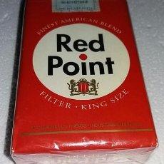 Maços de tabaco: PAQUETE DE TABACO CIGARRILLOS LLENO RED POINT PAQUETE ROJO. Lote 277146253
