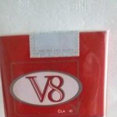 Paquetes de tabaco: PAQUETE DE TABACO CIGARRILLOS LLENO V8 REGULAR. Lote 277146083