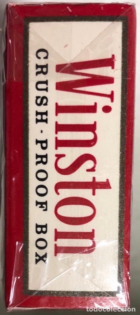 Paquetes de tabaco: PAQUETE DE TABACO WINSTON. DECADA DE LOS 80. PRECINTADO. INCLUYE 20 CIGARROS. - Foto 6 - 169853048
