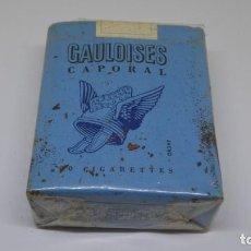 Paquetes de tabaco: ANTIGUO PAQUETE DE TABACO GAULOISES . ABIERTO . FALTA UN CIGARRILLO . . Lote 171023329
