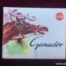 Paquetes de tabaco: PAQUETE TABACO GANADOR CON FILTRO . Lote 172409842