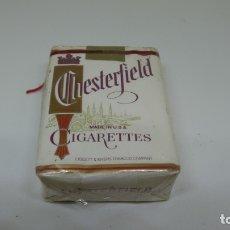 Paquetes de tabaco: ANTIGUO PAQUETE DE TABACO . CHESTERFIELD. PAQUETE BLANDO . SIN PRECINTO . . Lote 172464419