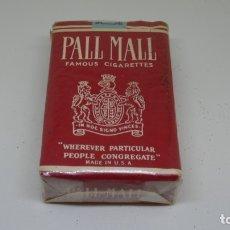 Paquetes de tabaco: ANTIGUO PAQUETE DE TABACO PALL MALL CON PRECINTO . Lote 172683208