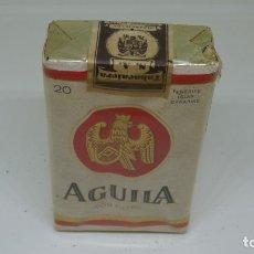 Paquetes de tabaco: ANTIGUO PAQUETE DE TABACO AGUILA . CON PRECINTO . Lote 172683520