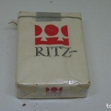 Paquetes de tabaco: ANTIGUO PAQUETE DE TABACO RITZ . CON PRECINTO . . Lote 172683973