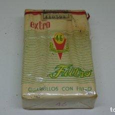 Paquetes de tabaco: ANTIGUO PAQUETE 46 MARCA REGISTRADA . JOSE LOPES LUIS . CON PRECINTO . Lote 172684435