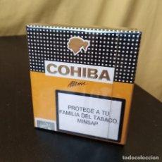 Paquets de cigarettes: PAQUETE DE TABACO COHIBA MINI - SIN ABRIR. PRECINTADO - HECHOS EN CUBA - HABANOS, SA - RAROS. Lote 234117635