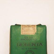 Paquetes de tabaco: CAJETILLA TABACO REGENTA SIN ABRIR. Lote 173386040