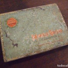 Paquetes de tabaco: CAJA DE CIGARRILLOS - MYRTLE GROVE - 15X11CM BONITA PATINA. Lote 173481468