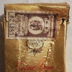 Paquetes de tabaco: ANTIGUO PAQUETE TABACO KAISER EXTRA LUJO CANARIAS AÑOS 60-70. Lote 173532790