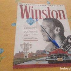 Paquets de cigarettes: ANTIGUO ANUNCIO PUBLICIDAD REVISTA TABACO WINSTON BLUES ESPECIAL PARA ENMARCAR. Lote 173793197