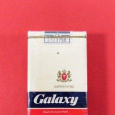 Paquetes de tabaco: ANTIGUA CAJETILLA DE CIGARRILLOS: GALAXY.. Lote 173978085
