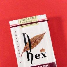 Paquetes de tabaco: ANTIGUA CAJETILLA DE CIGARRILLOS: REX.. Lote 173978147