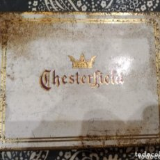 Paquetes de tabaco: CAJA DE CIGARRILLOS CHESTERFIELD CON AGUJAS BD. Lote 174216193