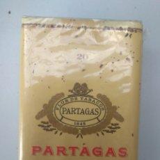 Paquetes de tabaco: PAQUETE DE PARTAGAS DE LUJO, BLANDO. Lote 174260022