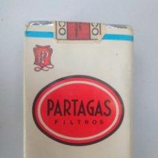 Paquetes de tabaco: PAQUETE CUBANO DE PARTAGAS FILTROS, COMPLETO. Lote 174260427