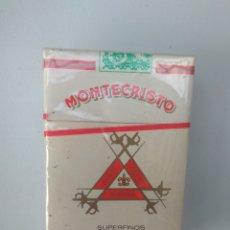Paquetes de tabaco: CAJETILLA CUBANA DE MONTECRISTO SUPERFINOS, CERRADA. Lote 175309855