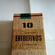 Paquetes de tabaco: PAQUETE DE TABACO CIGARROS ENTREFINOS. Lote 175686313