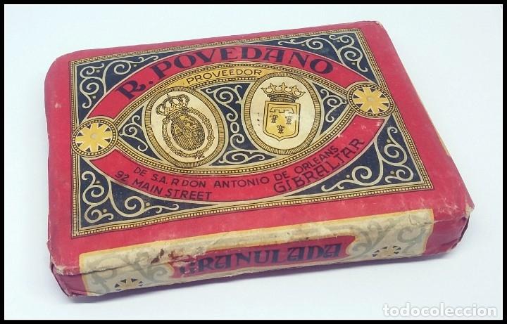 TABACO PICADURA GRANULADA EL CUBANITO POVEDANO GIBRALTAR (Coleccionismo - Objetos para Fumar - Paquetes de tabaco)