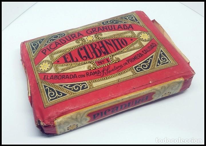 Paquetes de tabaco: TABACO PICADURA GRANULADA EL CUBANITO POVEDANO GIBRALTAR - Foto 2 - 175865649